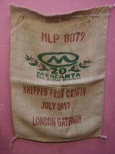 Gastos de envío gratis 12 sacos de café usado-Brick Lane Yute Arpillera sacos de café Venta