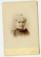 Cabinet Photo - Chicago, Illinois - LUFF / HOOKER Family (Alice Hooker Russell)