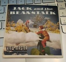 Sawyer's B314 Jack & the Beanstalk Ugly Duckling & more view-master Reels Packet