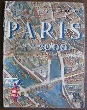 "REVIEW POINT OF VIEW 1950 SPECIAL ISSUE ""YEAR 2000 PARIS"" SEEN FROM THE SKY"