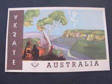 Australian QSL Radio Card Postcard Sydney