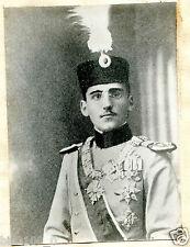 photo ancienne . militaire . médailles . décoration . Alexandre 1ier de Serbie