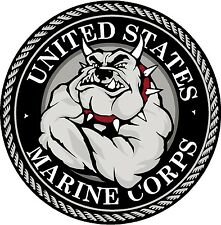 DEVIL DOG - USMC cornhole style board decals - don't tread on me - infidel