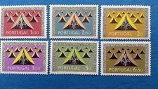 Sellos DE PORTUGAL - 18th Conferencia Scout 1962 nuevo, sin usar (6 SELLOS) h.c.v.