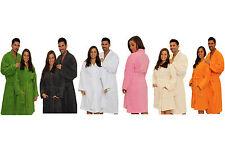 Kimono Terry Adults Bathrobe, Kimono Bath Robe for Women and Men with embroidery