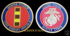 CHIEF WARRANT OFFICER 2 CHALLENGE COIN US MARINES CWO-2 USMC PROMOTION GIFT FMF