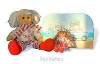Personalised Rag Doll Birthday Wedding Gift - Free Case & Miniature Rag Doll