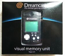 VISUAL MEMORY VMS DREAMCAST NERO BLACK TRASPARENTE NUOVO NEW