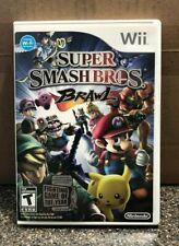 Super Smash Bros. Brawl (Nintendo Wii, 2008) Complete w/ Manual - Tested