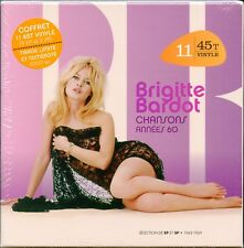 "BRIGITTE BARDOT - CHANSONS ANNEES 60 BOX SET 7"" VINYL SEALED LTD #D FREE SHIP"