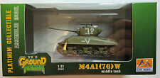 Easy Model WWII Ground Armour M4A1(76)W Middle Tank  36250