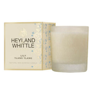 Heyland & Whittle Gold Classic Candle - Lily Ylang Ylang