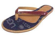 Women's Denim Flip Flops