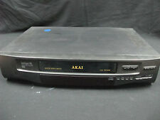 AKAI VS-G205 VHS HQ Video Cassette Recorder  no Remote