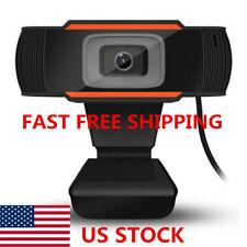 Usb 2.0 Hd 720P Webcam Camera for Computer Pc Laptop Video Microphone Autofocus