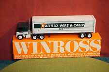 Winross Diecast Metal 1/64 truck Hatfield Wire & Cable Cargo 1977