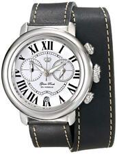 Glam Rock Womens GR77138 Bal Harbour Analog Display Swiss Quartz Black Watch New