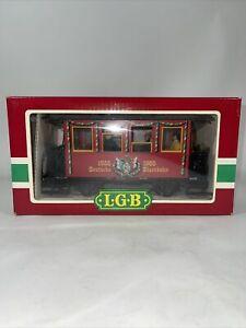 LGB 3150 150th Anniversary Wappenwagen Passenger Car Passenger & Lighting Kit