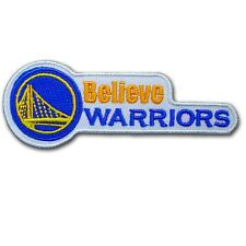 Believe Golden State Warriors Patch Embroidered Iron on Sport NBA Basketball
