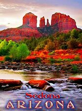 Sedona Arizona Desert United States of America Travel Art Advertisement Poster