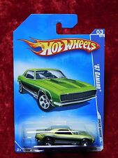 2009 Hot Wheels Dream Garage '67 Camaro ERROR Rear Rivet Not Attached