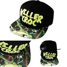 DC Comics Forever Evil Killer Croc Snapback Hat Adjustable Cartoon TV Show Cap