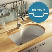 Kohler cast iron kitchen sink Entree Under-mount 838mm