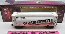 MTH 20-97442 Glasshopper ll MTHRRC-2201 3-bay Cylindrical Hopper car