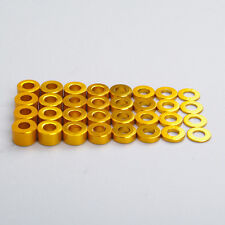 Golden Car Washer Set 078021T 0.5/1.0/1.5/2.0/2.5/3.0/3.5/4.0mm 1/10 RC Racing