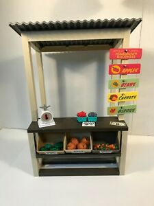 American Girl Doll Kit's Garden Stand Fruits & Vegetables READ Description
