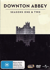 DOWNTOWN ABBEY Seasons One & Two DVD R2, 4 & 5 - PAL - New / Sealed