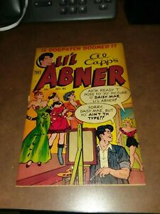 Lil Abner #85 Golden age 1951 classic daisy mae good girl art cover toby press