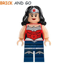 LEGO Minifig Figurine Super Heroes SH150 Wonder Woman + Epée Sword NEUF NEW