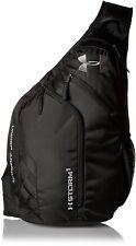 Under Armour Compel Sling 2.0 Backpack, Black/Black, One Size