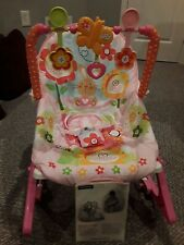 Fisher Price Infant To Toddler Portable Bouncer Rocker Y4544