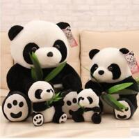 Panda Bear Standing Stuffed Animal Plush Soft Baby Toys 9cm Cute Gift Keychain