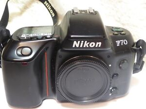 Nikon F70 35mm SLR Camera Body, EXCELLENT CONDITION FILM TESTED FWO