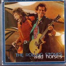 "Rolling stones ""wild horses"" 4 track MAXI CD dans Box + livret + photos"