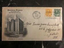 1925 Toronto Canada Ford Hotel Cover To Joliet Illinois USA