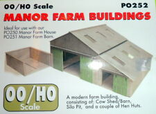 New Metcalfe PO252 Manor Farm Buildings (OO/HO Gauge)