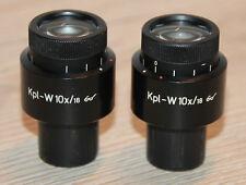 Zeiss MICROSCOPIO Microscope oculari compl. - W Occhiali 10x/18 (Zeiss n.: 464043-9902)