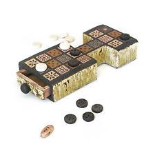 Royal Game of Ur - Ancient Sumerian Board Game - Handmade Ceramic Replica Set