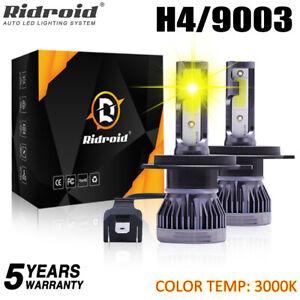 H4/HB2/9003 LED Headlight Kit Bulbs Replace Lamp High/Lo Beam 120W 26000LM 3000K