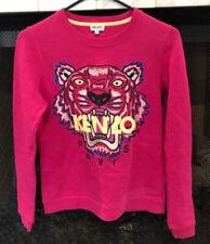 Kenzo Paris Hot Pink Women's Tiger Sweatshirt Size XS ($290+)