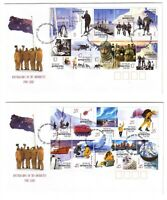 "2001 FDCx2 AAT. Australians in the Antarctic. Pict.PMK ""KINGSTON"""