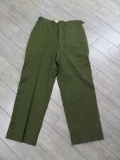 vintage m1951 trousers ARMY pants 36X32 green REGULAR MEDIUM wool FIELD military