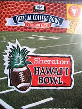 NCAA College Football Hawaii Bowl Patch 2013/14 Boise State Oregon State