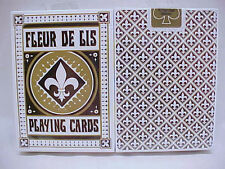 1 Deck Bicycle Fleur De Lis Deck Black Standard Poker Playing Cards Sealed New