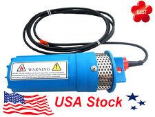 12V Submersible Deep DC Solar Well Water Pump, Solar, battery, alternate energy