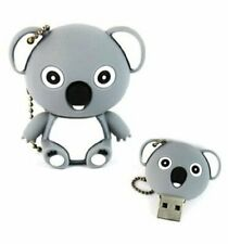 32Gb Cute Grey Koala Animals USB Drive Memory Stick Flash Drive Novelty Gift